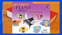 [BEST SELLING]  My First Piano Adventure: Lesson Book C with Play-Along & Listening CD by Nancy