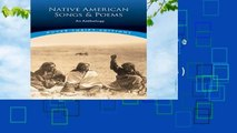 About For Books  Native American Songs and Poems: An Anthology (Dover Thrift Editions)  Best