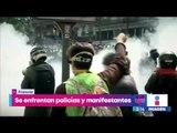 Disturbios y enfrentamientos durante marcha del 1 de mayo en Francia | Noticias con Yuriria Sierra