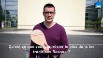 François Bussière / Joueur de Pelote Basque à Périgueux