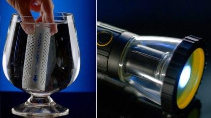 This Innovative Flashlight Runs On Water