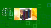 [MOST WISHED]  Harry Potter Boxset (Harry Potter, #1-7) by J.K. Rowling