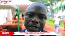 Célébration de la Fête du travail à la présidence: les participants se prononcent