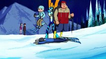 Ben 10   Ben Falls In The Snow While Skiing   The Sound and The Furry   cartn Network