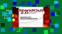 StandOut 2.0: Assess Your Strengths, Find Your Edge, Win at Work  For Kindle