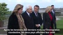 Macron et Mattarella célébrent Léonard de Vinci à Amboise (2)