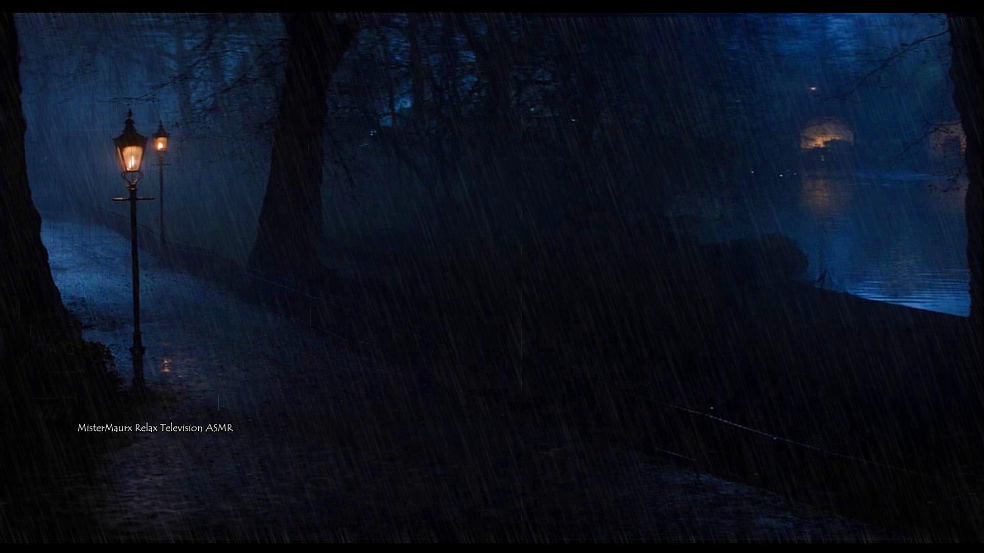 A Rainy Night at the Park | ASMR Ambience