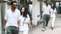 Arjun Rampal Spotted With Pregnant Girlfriend Gabriella: Check Out Here | FilmiBeat