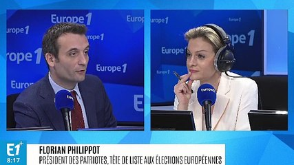 Florian Philippot - Europe 1 vendredi 3 mai 2019