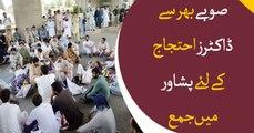 DOCTORS Strike continues at Peshawar