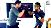 Farhan Akhtar Starts Kickboxing Training For 'Toofan' With Champion Drew Neal