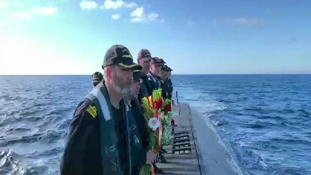 Homenaje al submarino C-4