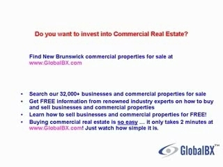 New Brunswick Commercial Real Estate For