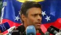 """Leopoldo López llama a contribuir al """"cese de la ocupación"""""""
