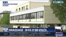 Sept individus en fuite après avoir braqué une société de bijoux à Châtillon-le-Duc, près de Besançon