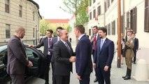Dışişleri Bakanı Çavuşoğlu, Macaristan Başbakanı Orban ile görüştü - BUDAPEŞTE