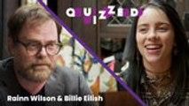 Rainn Wilson Quizzes Billie EIlish on 'The Office' Trivia   Billboard