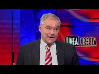 Entrevista con el Senador Tim Kaine