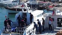 Balıkesir Ayvalık Kaçakları Taşıyan Tekne Battı Sahil Güvenlik Kurtarma-2