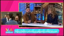 Regina Blandón enfurece por preguntas sobre Pablo Lyle. | Venga la Alegría