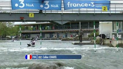Championnat de France Elite  Slalom 2019   Course 3 - Finale B - K1 Dame