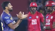 IPL 2019 KKR vs KXIP: Chris Gayle, KL Rahul departs early, Sandeep Warrier strikes | वनइंडिया हिंदी