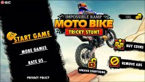 Impossible Ramp Moto Bike Tricky Stunts - Motor Games - Android Gameplay FHD