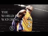 Kobe Bryant's Final Game - The World is Watching