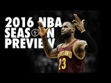 NBA 2016 Season Preview Mix (Ball is Back) - Dirt off your Shoulder