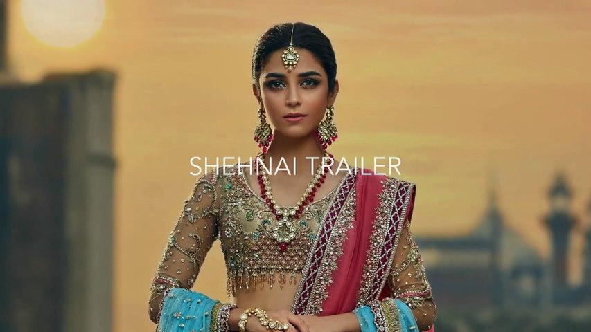 SHEHNAI BRIDAL BY FAIZA SAQLAIN HD TRAILER FT. MAYA ALI