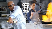 Al Roker Tries to Keep Up with a Professional Chef