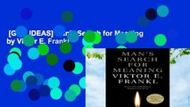 [GIFT IDEAS] Man's Search for Meaning by Viktor E. Frankl