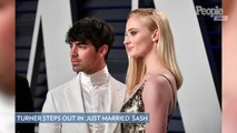 Sophie Turner Steps Out in 'Just Married' Sash After Surprise Las Vegas Wedding with Joe Jonas