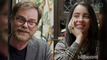 Rainn Wilson Quizzed 'Office' Superfan Billie Eilish And She Nailed It