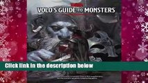 [GIFT IDEAS] Volo's Guide to Monsters by Wizards RPG Team