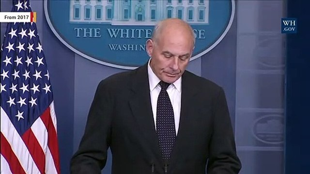 John Kelly Reportedly Joins Board Of Company That Runs Migrant Children Shelter
