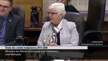 Pour la députée COMPLÈTEMENT DÉBILE de la Coalition avenir Québec (CAQ), Suzanne Dansereau, les rainettes sont «des petits touristes» qui se sont «trompés de chemin»
