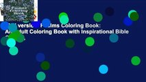 Full version  Psalms Coloring Book: An Adult Coloring Book with Inspirational Bible Quotes,