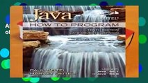 About For Books  Java How To Program (late objects) Complete