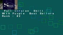 Full version  Skill With People  Best Sellers Rank : #2