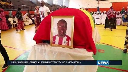 Obseque journaliste Sportif Ansoumany