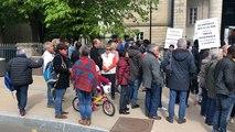 200 personnes manifestent à Quimper pour soutenir les mineurs étrangers isolés