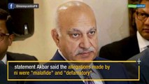 #MeToo: M J Akbar records statement before Delhi court, gets cross examined by Priya Ramani's counsel