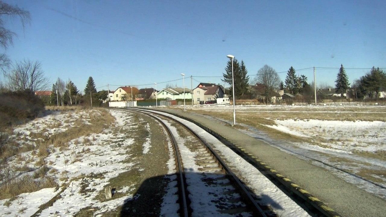 UNIKÁTNY VLAKOVÝ VIDEOPROJEKT: Trať Studený Potok - Tatranská Lomnica