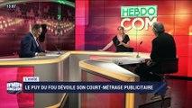 Le Puy du Fou dévoile son court-métrage publicitaire - 04/05