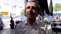 Alain Prost au roadshow de Formule 1 à Salon de Provence
