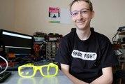 Samuel Tugler : écouter de la musique avec ses lunettes