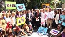 CHP kadın kollarından kadın cinayetlerine tepki - ANKARA
