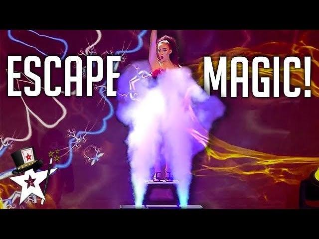 EXPLOSIVE Disappearing Act Shocks Judges on Spain's Got Talent 2019 - Magicians Got Talent