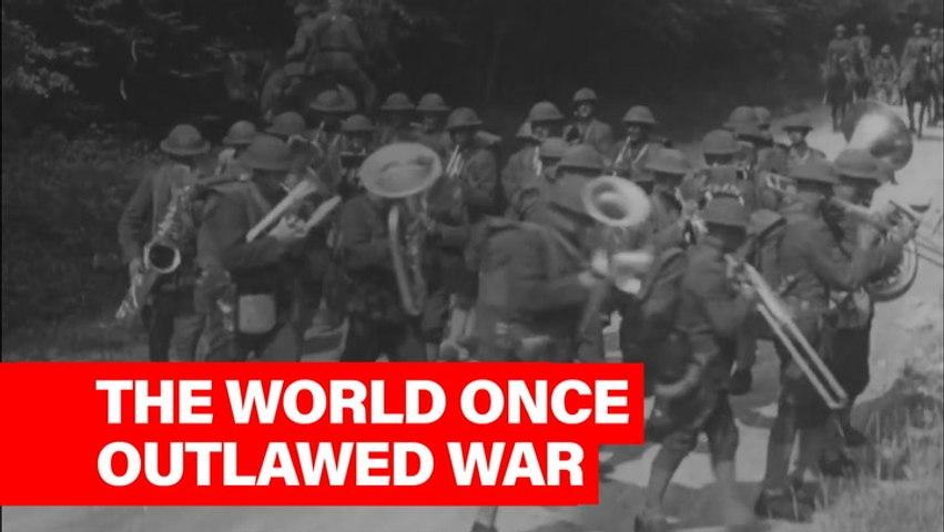 This Week In History: 1928 Kellogg-Briand Pact